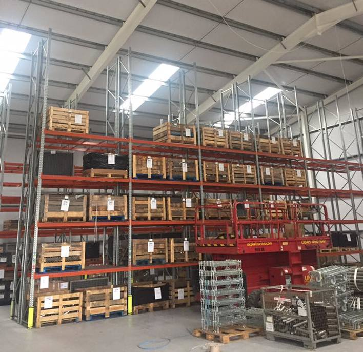 Warehouse Lighting Improves Business Performance